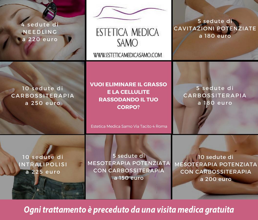 promozioni trattamenti estetici roma